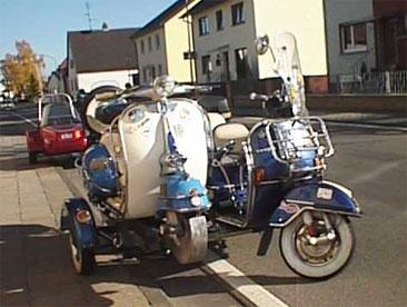Roller Beiwagen